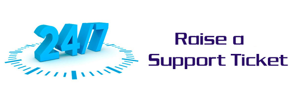 Raise a support ticket
